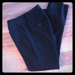 The Limited Black Pleaded Dress Pants